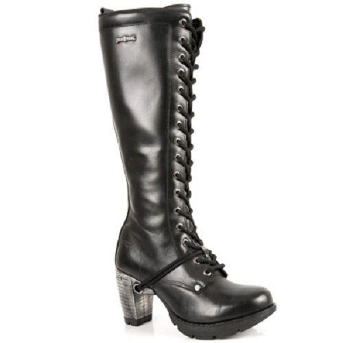 New Rock botas botas señora Gothic negro m.tr005-s1