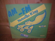 "NATASHA KING  AM - FM   12""  MAXI 45T Italo"