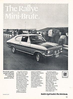 Rally Spec Sheet Classic Vintage Advertisement Car Ad J18 1969 Alpine Renault