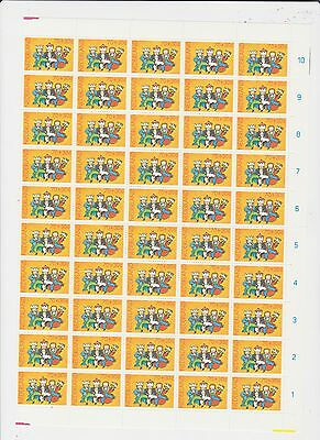 S12 Netherl.1983 Nvph 1295-98 Child Wellfare 4x 1/2 Sh.of 50 Mnh Europe