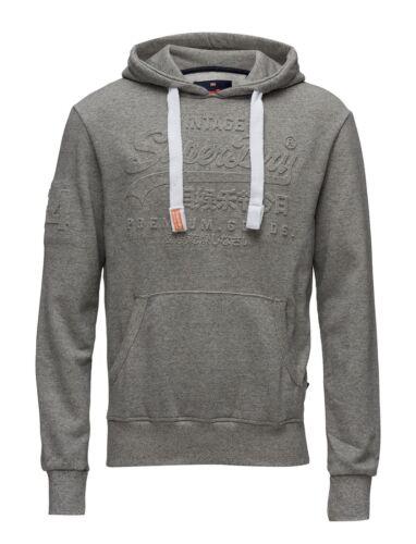 S-XXXL Camicia Uomo Premium Goods Felpa Cappuccio in rilievo Grigio Sabbia Taglie