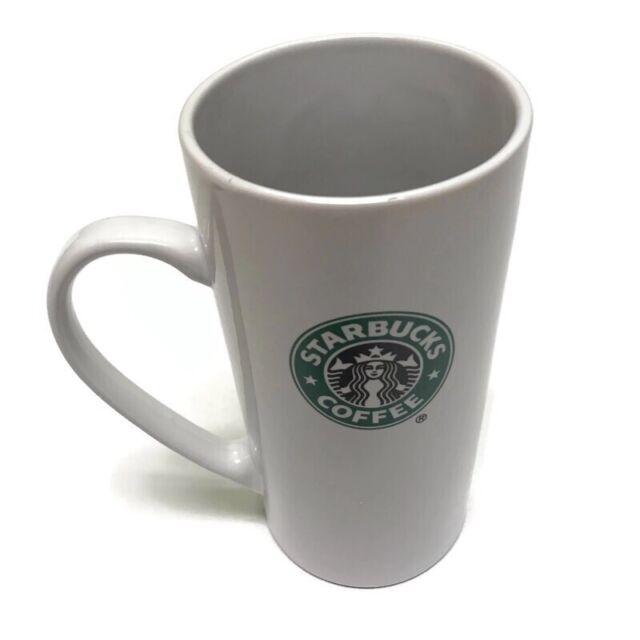 Starbucks Tall Skinny Coffee Latte Mug Cup 14 Oz. 2008
