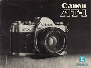 Canon-AT-1-Genuine-Instruction-Book-Manual-User-Guide-Instructions