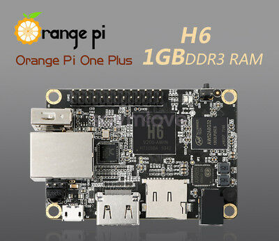 Orange Pi One Plus H6 1GB Quad-core 64bit development board Support android 7.0