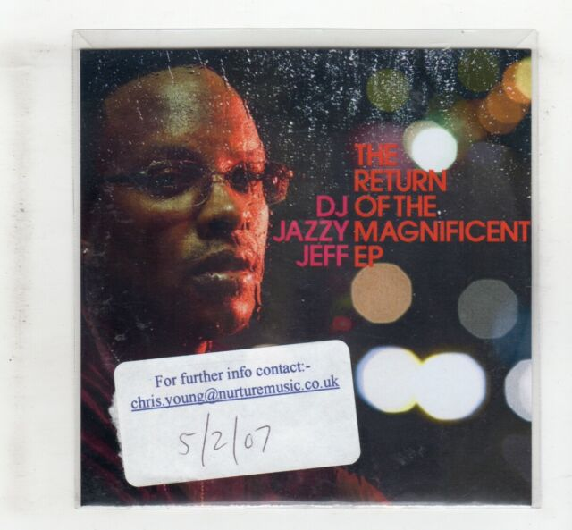 (IU354) DJ Jazzy Jeff, The Return Of The Magnificent - 2007 DJ CD