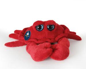 Stofftier-Krabbe-Taschenkrebs-Krebs-Plueschtier-Breite-ca-15cm-ohne-Beine