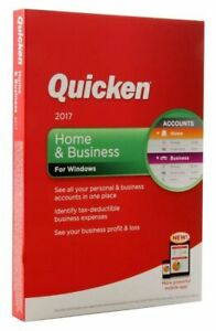 Quicken Home and Business 2017 for Windows, Full Version
