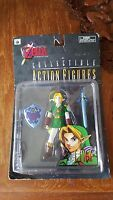Nintendo Legend Of Zelda Link Action Figure Ocarina Of Time Figure N64