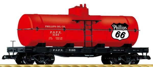 PIKO G SCALE PHILLIPS 66 TANK CAR   38758