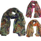 Fashion Women Long Print Chiffon Scarf Wrap Ladies Shawl Girl Large Silk Scarves