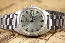 Vintage Russian Watch Sekonda Automatic winding Soviet USSR 25j Servised DayData