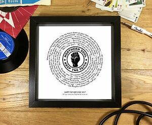 Personalised-NORTHERN-SOUL-Vinyl-Record-Print-PERFECT-FATHER-039-S-DAY-GIFT