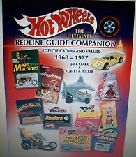 HOT WHEELS Ultimate Redline Guide Companion PRICE GUIDE COLLECTORS BOOK