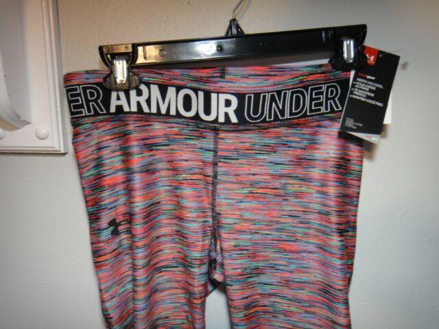 Under Armour Girls HeatGear Armour Novelty Capri