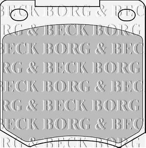 FRONT-BRAKE-PADS-FOR-FORD-GENUINE-OE-BORG-amp-BECK-BBP1054