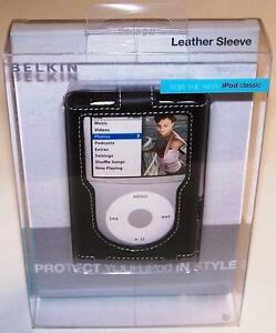 BELKIN-Leather-Case-for-iPod-Classic-5G-6G-7G-80GB-120GB-160GB-NIB