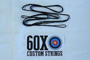 "55/"" 59 AMO 16 Strand Choice of Color Dacron B50 Recurve Bow 60X Custom Strings"