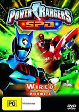 Power Rangers SPD - Wired Volume 3 (DVD) - (Region 1) FREE SHIPPING! NEW!