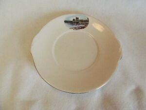 Vintage-Bone-China-Souvenir-Plate-KELOWNA-B-C-CANADA-Royal-Grafton-England