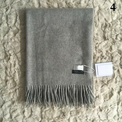 Fashion Women Winter Cashmere Blend Pashmina Solid Tassel Shawl Wrap Scarves Hot