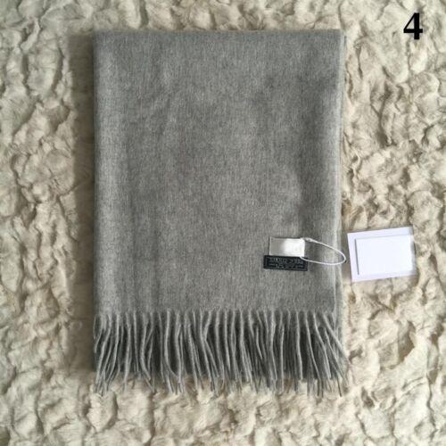 Wolle Schal Warm Einfarbig Schal Wolle Kaschmir Cashmere Wollschal  Winter!
