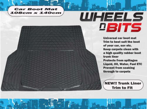 Hyundai i30 i40 Rubber Car Boot Liner Mat Universal Protector L or XL