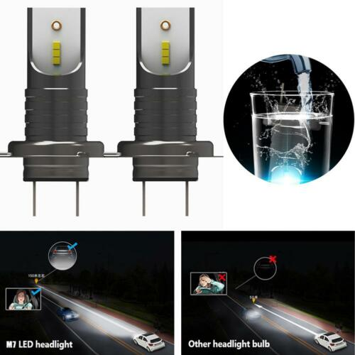 H7 110W 30000Lm LED Car Headlight Conversion Globes Canbus Bulbs Beam 6000K DQ