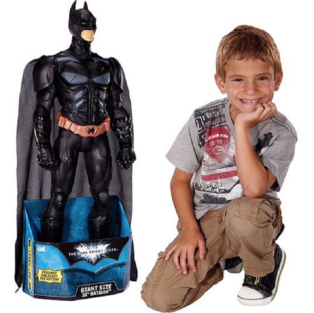 Giant HUGE 31  Batman Dark Knight Poseable Action Toy Doll Figurine