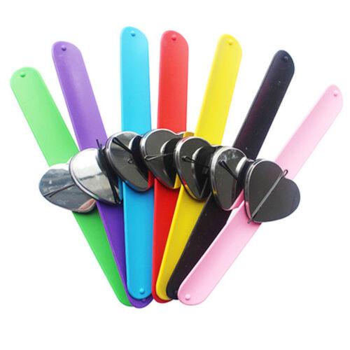 1pc salon de coiffure Grip ceinture flexible Clips Cheveux Bande Bracelet Ceinture Filles