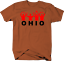 Ohio State Pride Funny YMCA Arm Movement in Red Tshirt