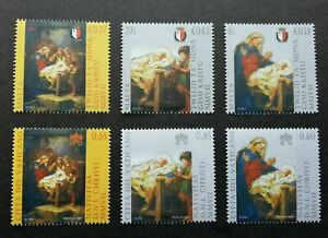 [SJ] Vatican Malta Joint Issue Nativity Giuseppe Cali 2007 Christmas (stamp) MNH