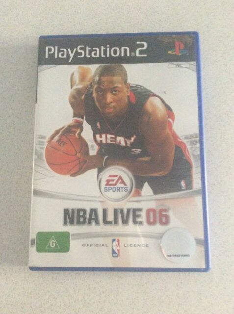 NBA Live 06 Sony PlayStation 2 Console Game PAL PS2
