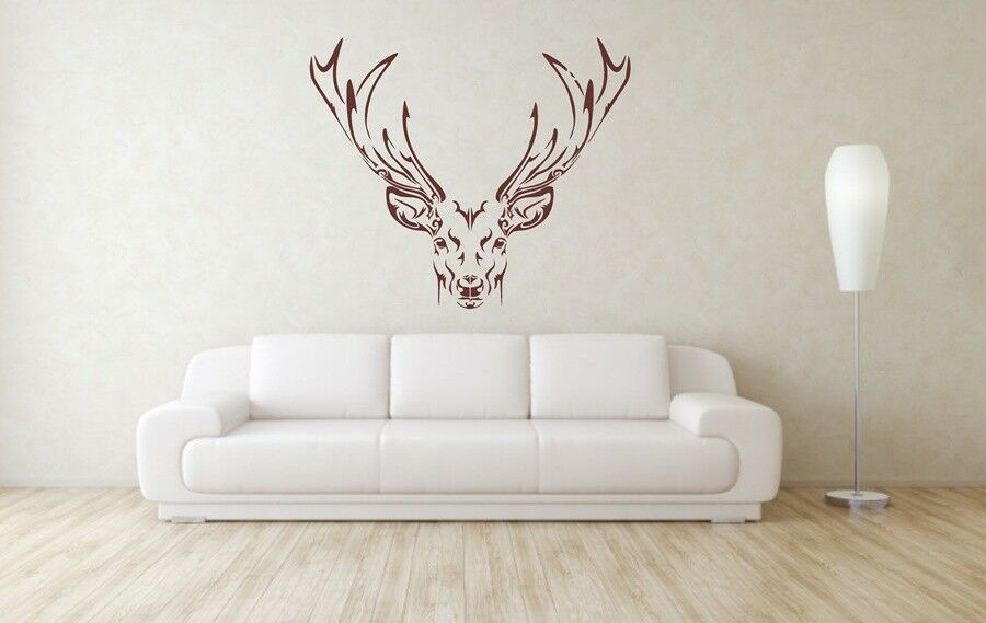 Beautiful Doe Face On Stencil A4 A3 A2 A1 A0 350 micron STAG024