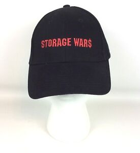 Storage Wars A E Embroidered Ball Cap Hat By Anvil Black Adjustable ... 1120854b130