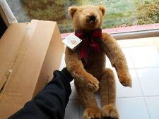 Vintage 1991 GUND Canterbury Almondine SIGNED ARtisan Ltd 1000 Teddy Bear MIB