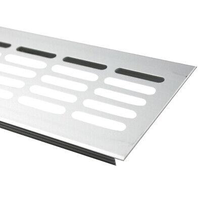 80x500mm Aluminium L/üftungsgitter Wei/ß Stegblech L/üftung Alu-Gitter Gitter M/öbelgitter M/öbell/üftung