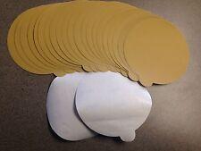 "Sand Paper PSA 6"" DA 240 Grit Stick-on (25 Pcs)"