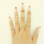 12pcs-Silver-Gold-Boho-Stack-Plain-Above-Knuckle-Ring-Midi-Finger-Rings-Set-Gift thumbnail 49