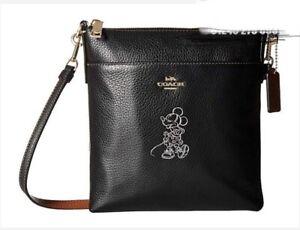 Details about Womens Coach Disney Cross Body Bag