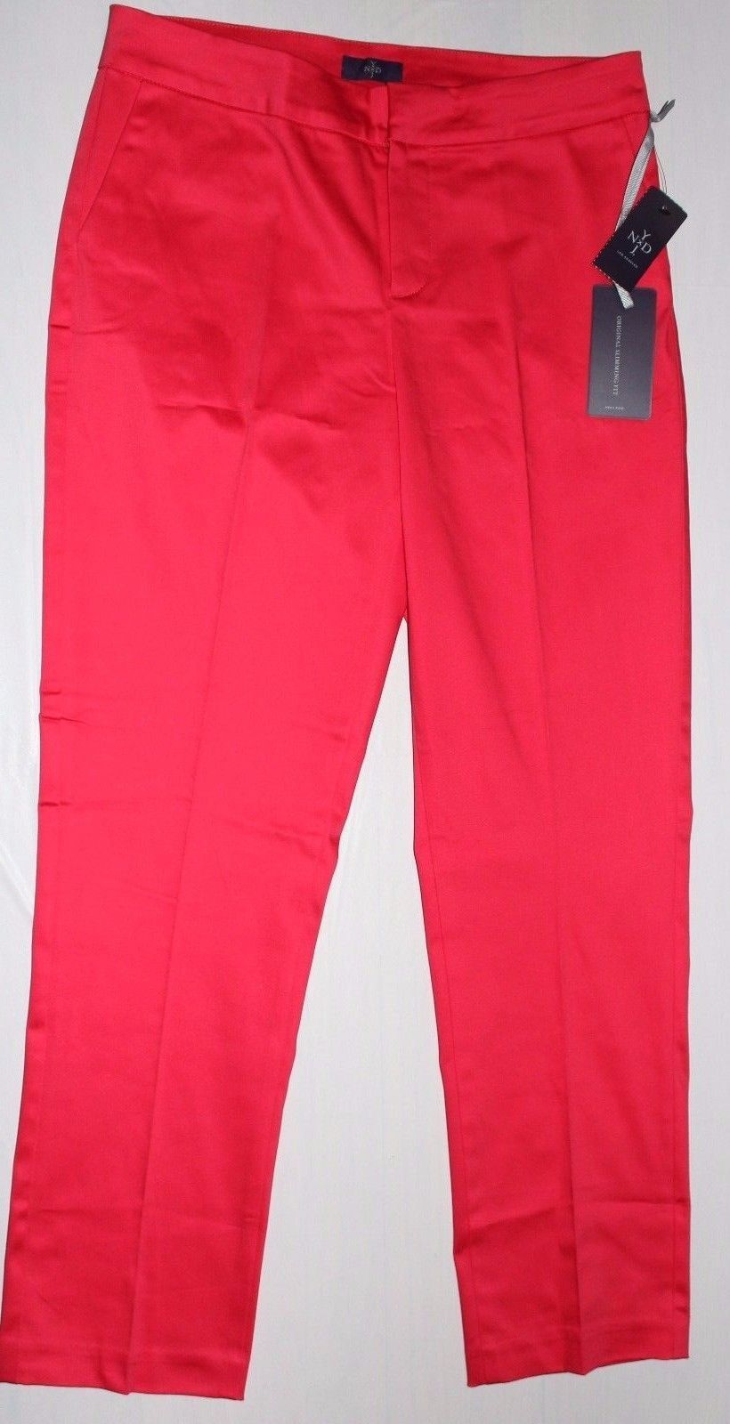 NYDJ NOT YOUR DAUGHTER'S JEANS LOLLIPOP CORYNNA ANKLE PANTS
