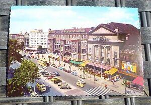 Kurfurstendamm-Maison-Vienne-Berlin-Carte-Postale-50er-60er-Ans-Kruger-921-11-A