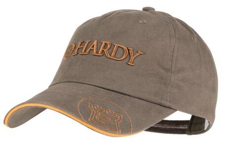 Hardy Classic pêche Cap olive avec bordure dorée c/&f 3D Truite et Saumon Hat