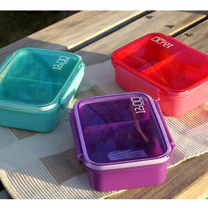 hot plastic cute bento box creative 12 00 lunch box food container fruits box. Black Bedroom Furniture Sets. Home Design Ideas
