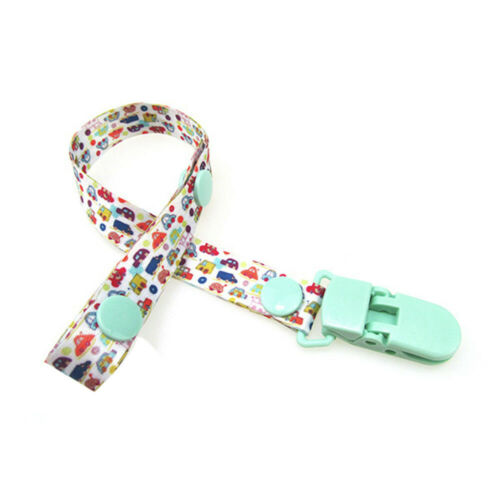 Baby Pacifier Clip Boy Girl Teething Dummy Soother Nipple Strap Chain Holder NO