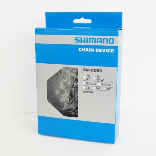 38T ISCG03 ISMCD508G103 Shimano SAINT SM-CD50 Chain Guard /& Guide Set