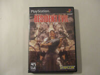 Resident Evil Custom Ps1 Playstation 1 Case (no Game)