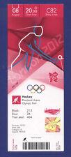 Orig.Ticket  Olympic Games LONDON 2012 - HOCKEY  1/2 Final   ENGLAND - ARGENTINA