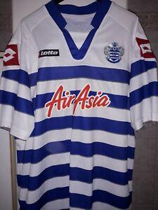M Queens Park Rangers Trikot Home Gr XXL Air Asia Lotto 13-14 Jersey QPR S