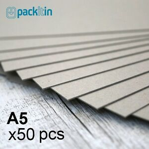 A5-Backing-Boards-50-sheets-700gsm-chipboard-boxboard-cardboard-recycled