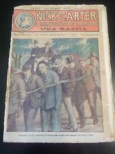 FUMETTO NICK CARTER IL GRAN POLIZIOTTO AMERICANO 1930 FASCICOLO N°63 IK-11-181